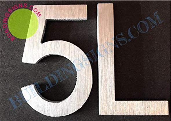 Apartment Number 5L  Signage