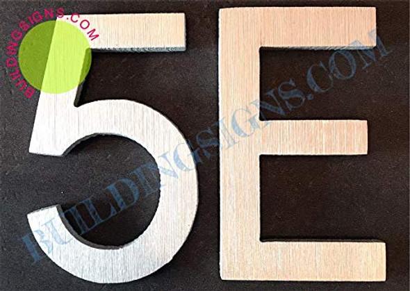 Apartment Number 5E  Signage