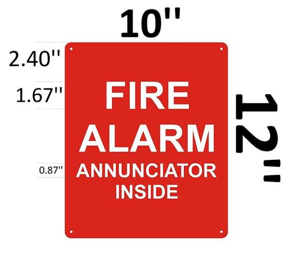 FIRE Alarm Annunciation Inside