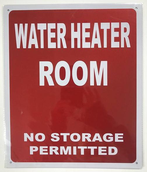 WATER HEATER ROOM
