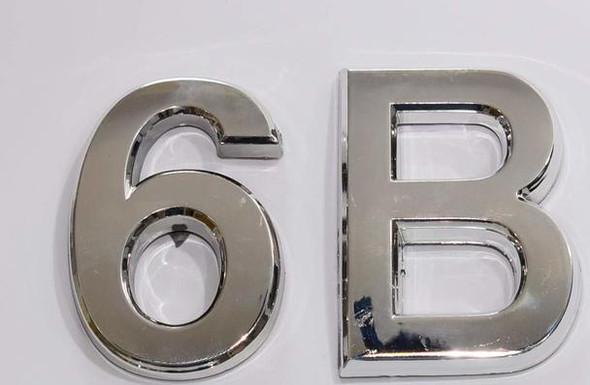 Apartment Number 6B  Signage/Mailbox Number  Signage, Door Number  Signage. - The Maple line