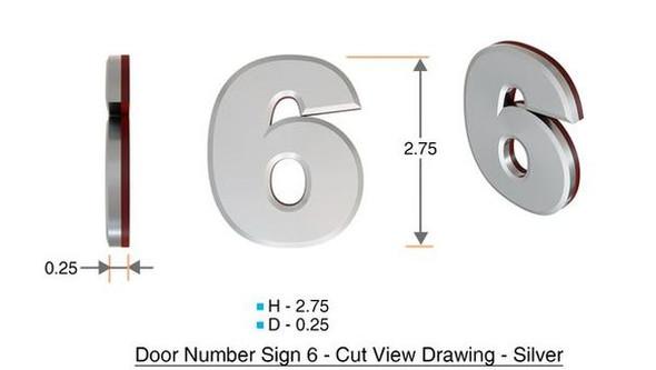 Apartment Number 6C /Mailbox Number , Door Number . - The Maple line
