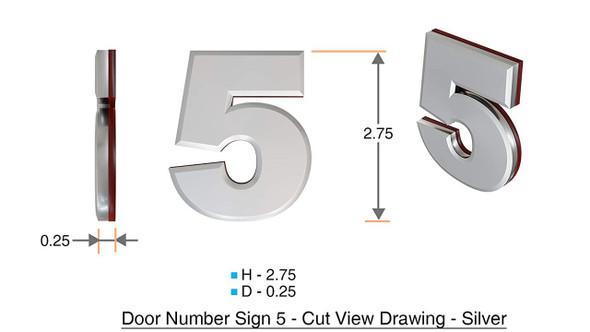 Apartment Number 5C /Mailbox Number , Door Number . - The Maple line