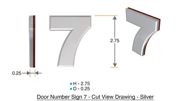 Apartment Number 7C /Mailbox Number , Door Number . - The Maple line