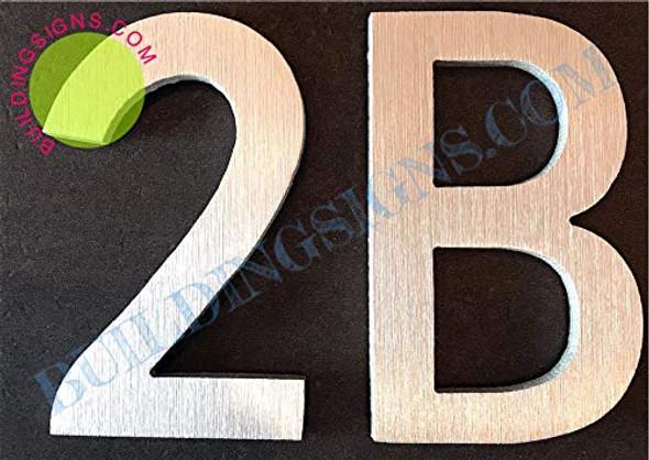 Apartment Number 2B  Signage