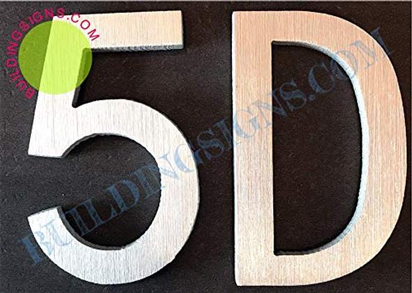 Apartment Number 5D  Signage