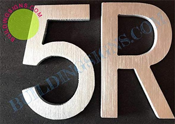Apartment Number 5R  Signage