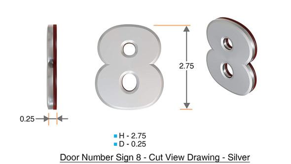 Apartment Number 8C /Mailbox Number , Door Number . - The Maple line