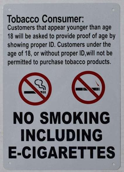 Tobacco Consumer Notice  - for Retail