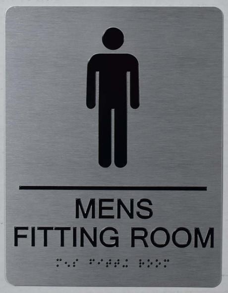 ADA MEN'S FITTING ROOM  Signage