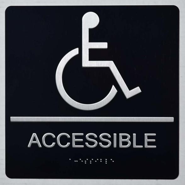 ada ACCESSIBLE  Signage