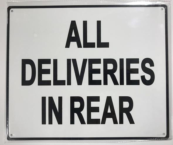 DELIVERY ENTRANCE  Signage.