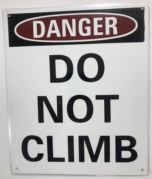 Danger: Do Not Climb on Ladder  (minu age