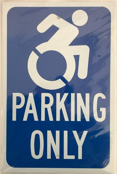 "NYC ""HANDICAP Parking""  Signage."