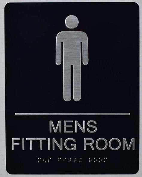 MEN 'S FITTING ROOM SIGNAGE