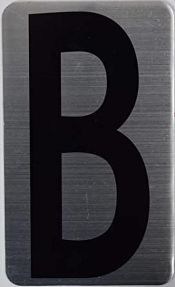 House Number Letter Sigpartment Number Letter - Letter B