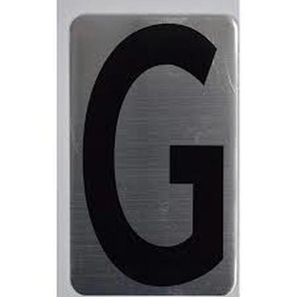House Number Letter  Signage/Apartment Number Letter  Signage- Letter G