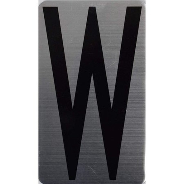 House Number Letter  Signage/Apartment Number Letter  Signage- Letter W