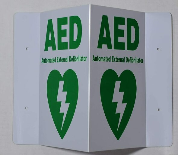 AED 3D Projection SigED Hallway