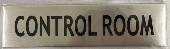 CONTROL ROOM  Signage