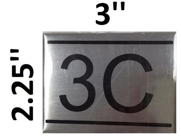 APARTMENT NUMBER  -3C