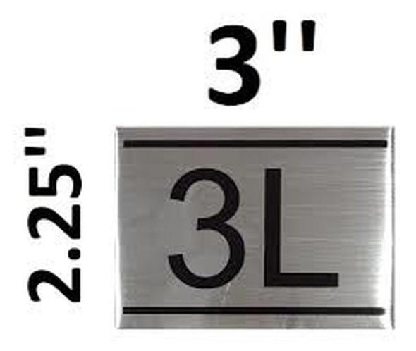 APARTMENT NUMBER  -3L