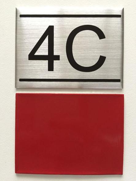 APARTMENT NUMBER  -4C
