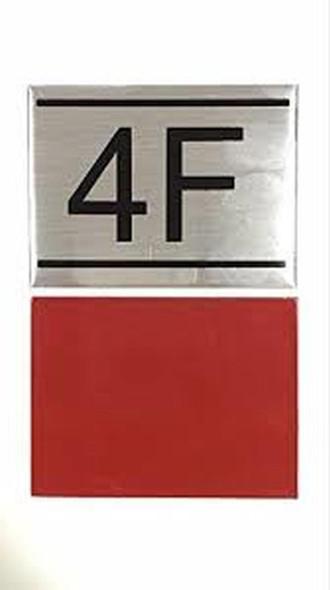 APARTMENT NUMBER  -4F