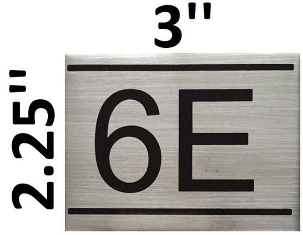 APARTMENT NUMBER  -6E