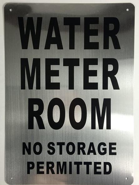 Water Meter Room  Signage