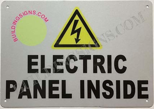 Electrical Panel Inside sinage