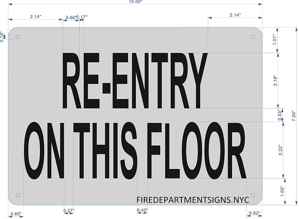 RE-Entry ON This Floor
