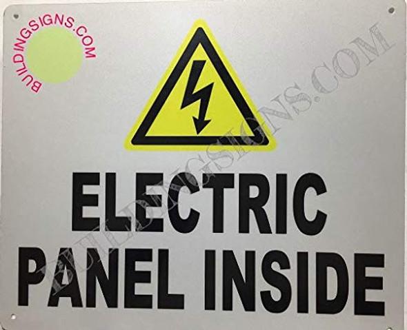Electrical Panels Inside  Signage