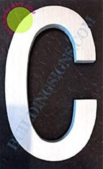 Letter C  Signage