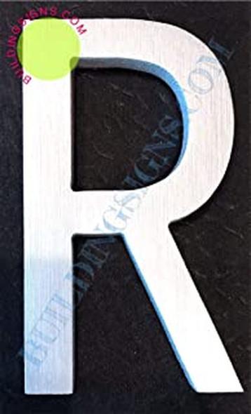Letter R  Signage