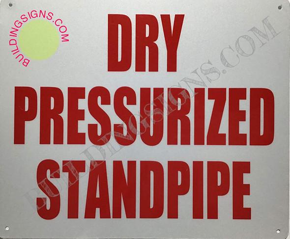 Dry PRESSURIZED Standpipe