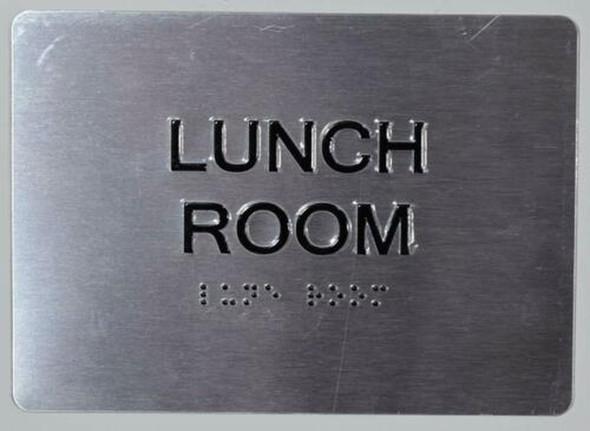 Lunch Room ADA  Signage