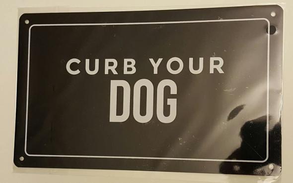 BUILDINGS.COM Curb Your Dog