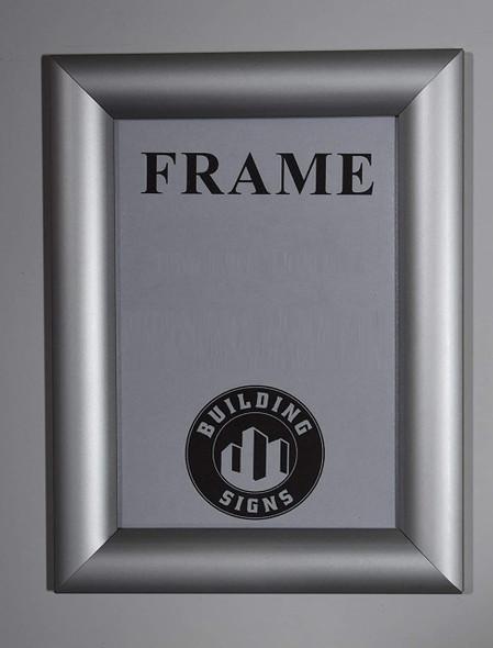 Elevator Certificate Frame Front Load Frame