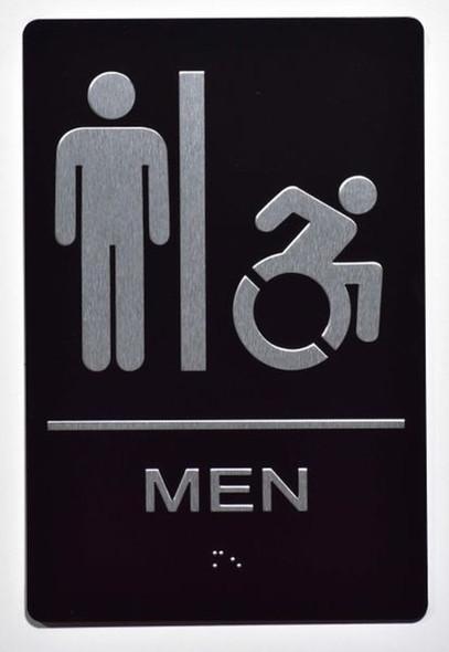 Men accessible  Signage- ADA Compliant  Signage