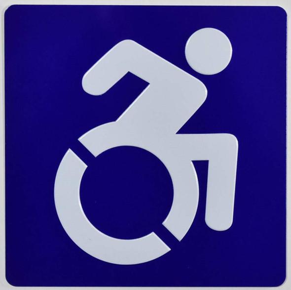 ADA International Symbol of Accessibility ISA)  Signage