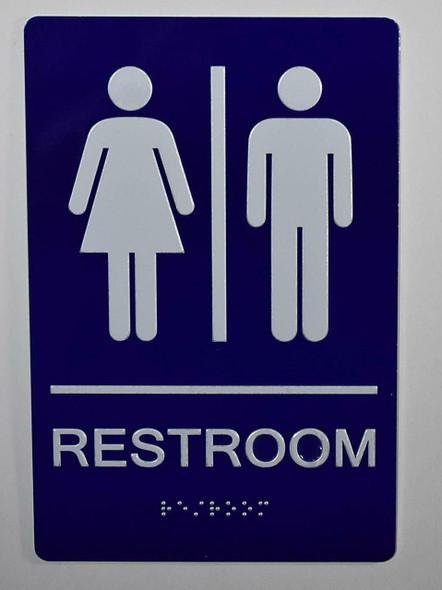 Unisex Restroom  Signage