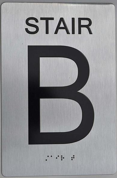 STAIR B ADA  Signage