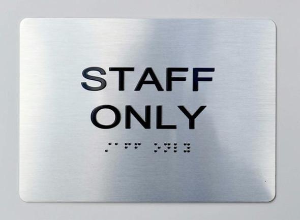 STAFF ONLY Dob  Signage