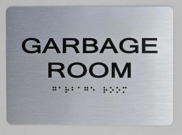 GARBAGE ROOM  Signage for Building