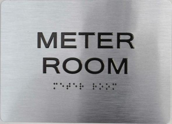 Meter Room ADA Sign for Building