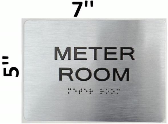 Meter Room ADA  Signage Brush