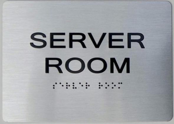 Server Room HPD  Signage