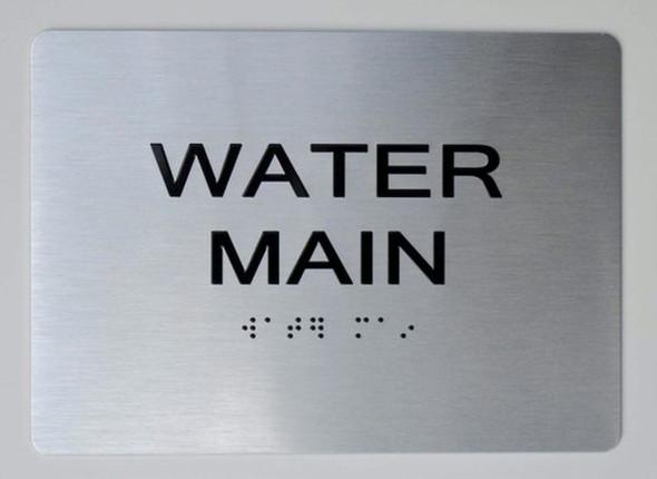WATER METER Sign Brush