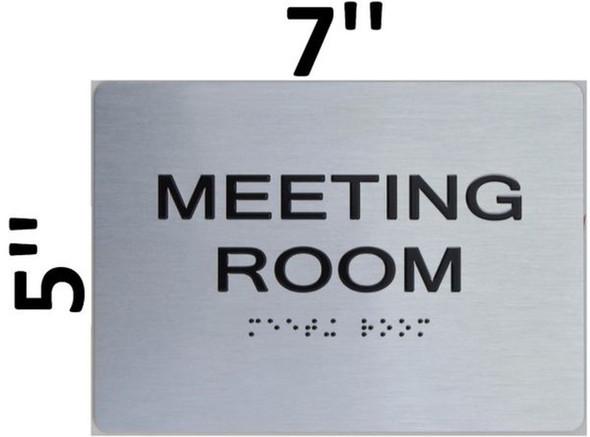 Meeting Room ADA  Signage